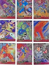 1995 MARVEL METAL BLASTER CARDS 1995 BY FLEER ; 1 to 18      CHOOSE