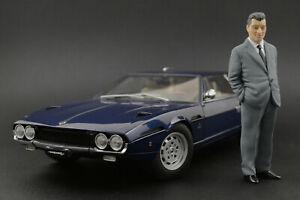 Ferruccio Lamborghini Figure pour 1:18 Countach Urraco Kyosho   !! NO CAR !!