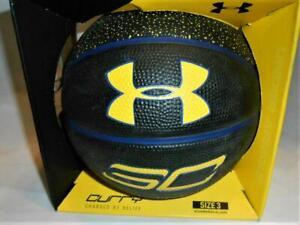"Under Armour UA Stephen Curry Golden State Warriors Mini Size 3 Basketball 7"" ga"