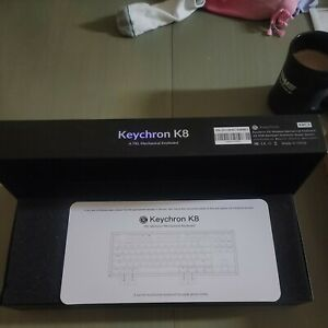 Keychron K8 Hot-swappable Wireless Bluetooth 5.1/Wired USB Mechanical Gaming New