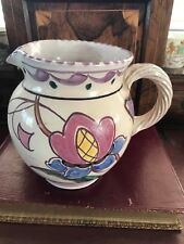 More details for collard honiton hand decorated water jug