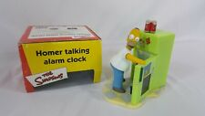 Wesco The Simpsons Homer Talking Alarm Clock with Box 2002
