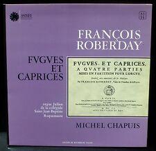 Roberday  12 fugues & caprices Chapuis, St Jean-Baptiste de Roquemaure LP/CV NM