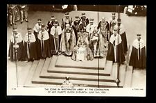 r4177 - The Coronation of Our Queen Elizabeth II at Westminster Abbey - postcard