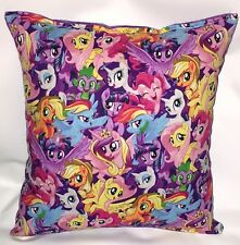 My Little Pony Pillow HANDMADE in USA Grouped Ponies Pillow MLP Pillow Brony Con