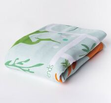 FLASH SALE - Baby Swaddle Wrap Blanket - Forest Rain