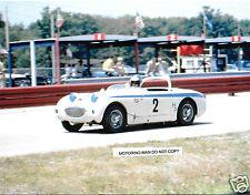 Austin healey sprite racing elkhart lake 1967 road america photographie