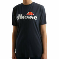 ELLESSE ALBANY Womens T-Shirt Crew Neck Sports Tee Summer Casual Cotton Tops