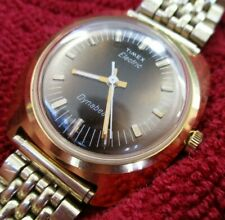 STUNNING 1960'S WORKING TIMEX ELECTRIC DYNABEAT WATCH GORGEOUS DIAL INCREDIBLE C