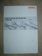 Reparaturanleitung für Stihl FS 120, 200, 300, 350, 400, 450, BR 350, 450