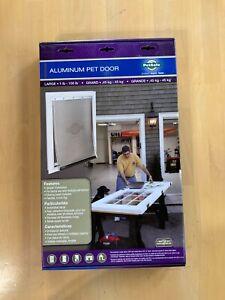 """Petsafe HPA11-11600 Freedom Aluminum Pet Door, Large 1-100lbs, 10.25"""" x 16.25"""""""