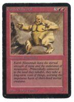 Earth Elemental - ALPHA Edition - Old School - MTG Magic #2 - LP