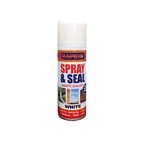 Spray Mastic Sealant Leak Stop Spray & Seal Roof Gutter Pipes Window 200ml White
