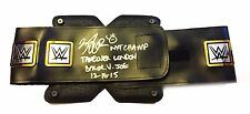 WWE NXT FINN BALOR HAND SIGNED PLASTIC NXT CHAMPIONSHIP BELT WITH PIC PROOF 1