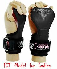 Cobra Grips FIT FOR LADIES! Weight Lifting Gloves Heavy Duty Straps Alternative