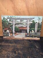 Ikuta Shrine, Kobe Japan Post Card