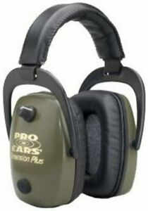 Pro Ears Pro Slim Gold Series Ear Muffs, Green #GSDPSGBX