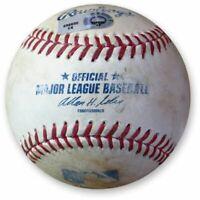 Zack Greinke Game Used Baseball 8/10/13 Pitch to Ben Zobrist Dodgers EK658650