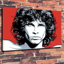 "Jim Morrison The Doors Pop Art Printed Canvas Picture A1.30""x20"" 30mm Deep"
