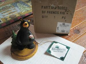 """Big Sky Carvers Bear foots Bears  #50902 """" Friends """" CABIN Collectible woodland"""