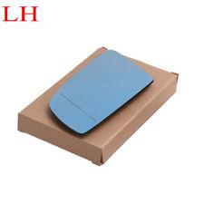 Left Side Blue Heated Wing Mirror Glass For BMW E60 E61 2003-10  E63 E64 2004-11