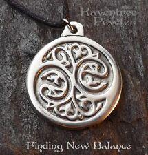 Finding New Balance- Pewter Pendant - Spiritual Growth, Awakenening Jewelry