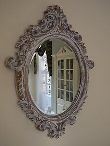 Wall Mirror For Sale Buy Wall Mirror Shabby Chic Mirror Oval Shape Distressed