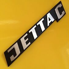 VW Mk1 Jetta C Volkswagen Rear badge Letter refurb (Sticker supplied only)