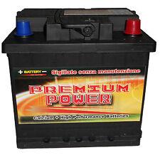 Batteria Auto 50 AH 2 Anni di garanzia tecn.Calcio/Calcio +30% Spunto 420A