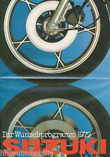 Suzuki Prospekt 1979 GP125 GS850 G GT50 KE RV90 Wet Bike GS750E GS1000 E Japan