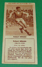 FOOTBALL BISCUITS REM 1958 ROBERT BERARD STADE REIMS DELAUNE AGEDUCATIFS PANINI
