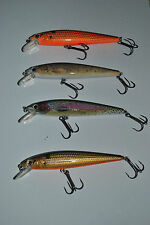 2 X 11 cm TROUT MINNOW FISHING LURE freshwater