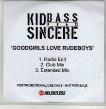 (BT701) Kid Bass FT Sincere, Goodgirls Love Rudeboys - DJ CD