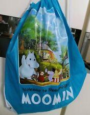 Moomin Valley Characters Foldaway Drawstring Backpack