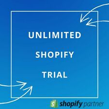 FREE Shopify Store With Unlimited Trial + APPS & Oberlo! (without monthly fee!)
