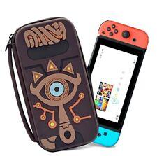 Travel Carrying Case Zelda Sheikah Slate Hard Storage Bag For Nintendo Switch