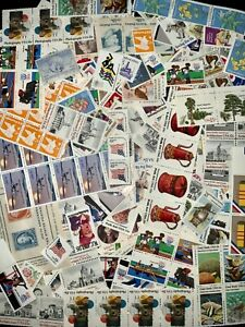 US #2377//2516 MNH CV$25.00 50 All-Different 25c Stamps