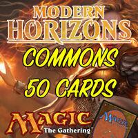 MTG Magic The Gathering Modern Horizons MH1 Job Lot 50 Common Cards NM/M