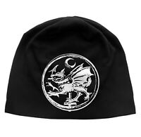 Cradle Of Filth Order Of The Dragon Logo Discharge Print Beanie Hat New Official