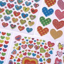 Herzform Aufkleber Label für Schulkinder Lehrer Belohnung DIY Craft RA
