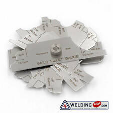 Welding Fillet Gage Inch&Metric 7 Pieces MG-11 Measure Tools Inspection Gauge