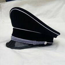 WWII Ww2 German Military Elite Officer Visor Cap Hat Size M 57cm