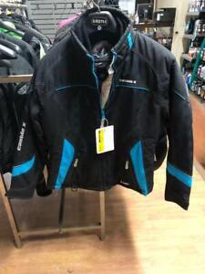 Castle X Twist 13 Ladies jacket, Black and Blue, Medium - price reduced