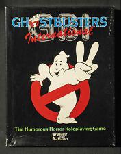 Ghostbusters International RPG + 2 Adventures, West End, Chaosium, MegaExtras!