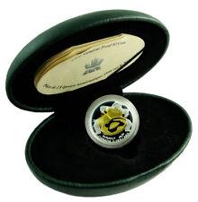 CANADA 2 Dollars 1999 Silver Gold-Plated PF Millennium-Nunavut  Box/CoA