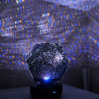 Romantic LED Starry Star Sky Projector Night Light Bedroom Lamp Xmas Gift