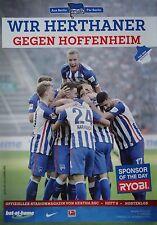 Stadionmagazin 2015/16 Hertha BSC Berlin - 1899 Hoffenheim