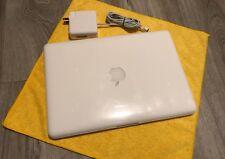 "Apple MacBook White 13"" 250GB HDD  2.26GHz 4GB MAC OS High Sierra 2017"