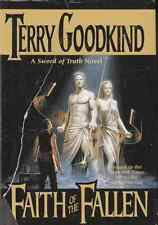TERRY GOODKIND FAITH OF THE FALLEN BOOK 6 SWORD OF TRUTH HCDJ 1ST ED NEW RARE