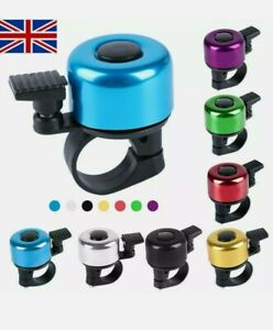 Bike Bell Accessories Blue Bicycle Safety Bell, 🇬🇧 UK seller